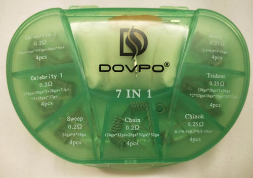 DOVPO 7IN1 COIL BOX SS316/A